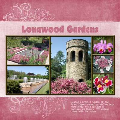 L is for Longwood Gardens