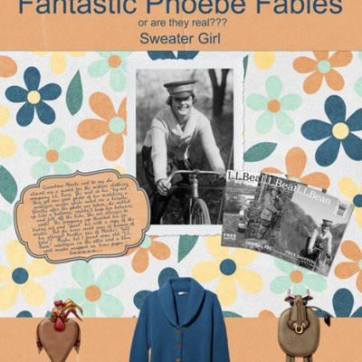 Fantastic Phoebe Fables - Sweater Girl