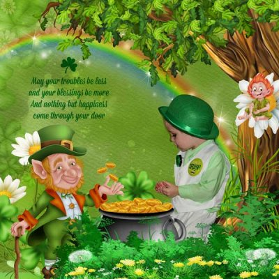 quote challenge - St Patrick's day