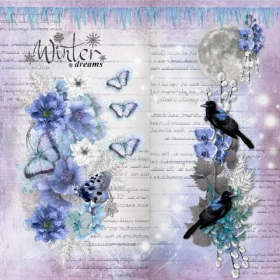 March Scraplift - Winter Dreams