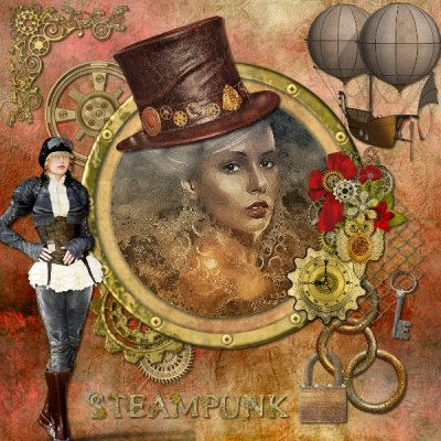 Steampunk Altered Image