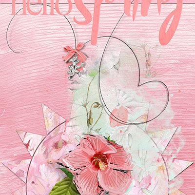 Hello Spring -April Card