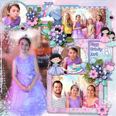 Princess Karli 8th Birthday