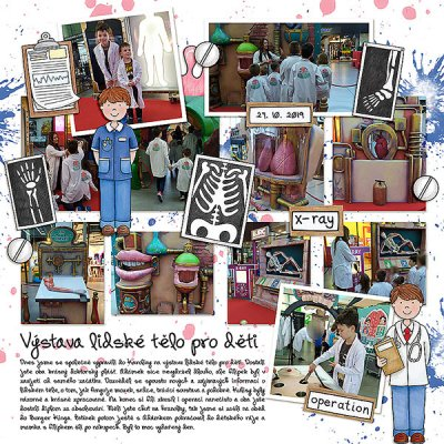 Human body exhibition for kids