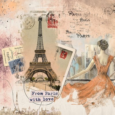 From Paris With Love - November Mask
