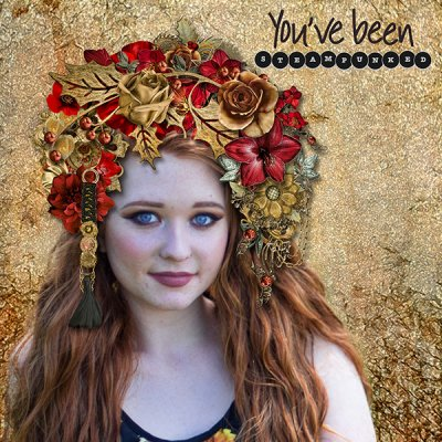 You've Been Steampunked - Headdress