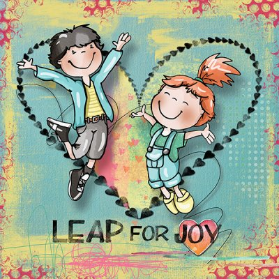 Leap For Joy - PopUp Jump For My Love