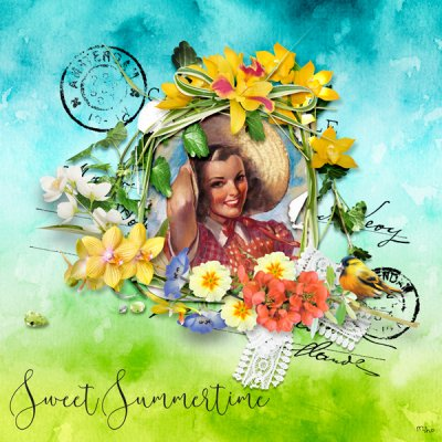 """Sweet Summertime"" de VanillaM Designs"