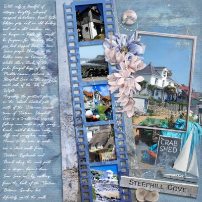 October Template Challenge - Steephill Cove