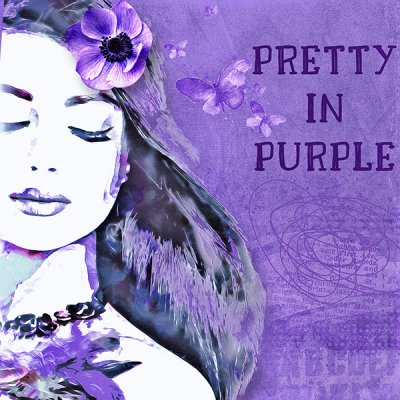 P52 Week42: P - Pretty In Purple