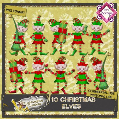 Commercial use Christmas Elves