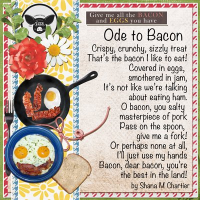 Ode to Bacon