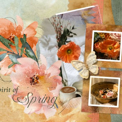 March Template Challenge - Spring