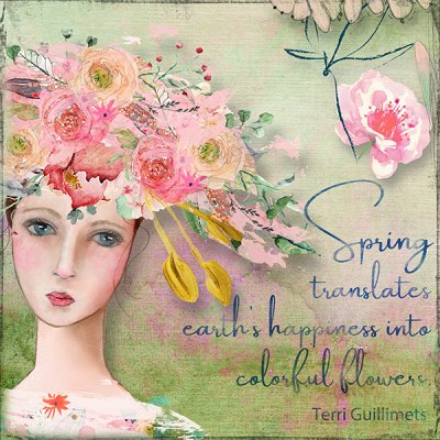 April Quote Spring