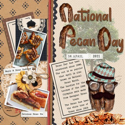 April Mood Board - Pecan
