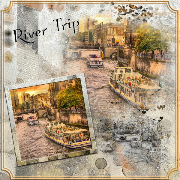 Anita's Masks and Elements - River Trip