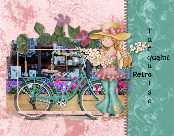 August Pop-up Word Link - Bicycle
