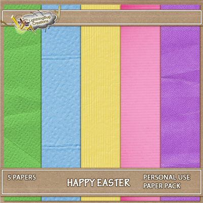 Easter Fun Paper Pack add on