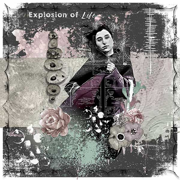 Explosion of life