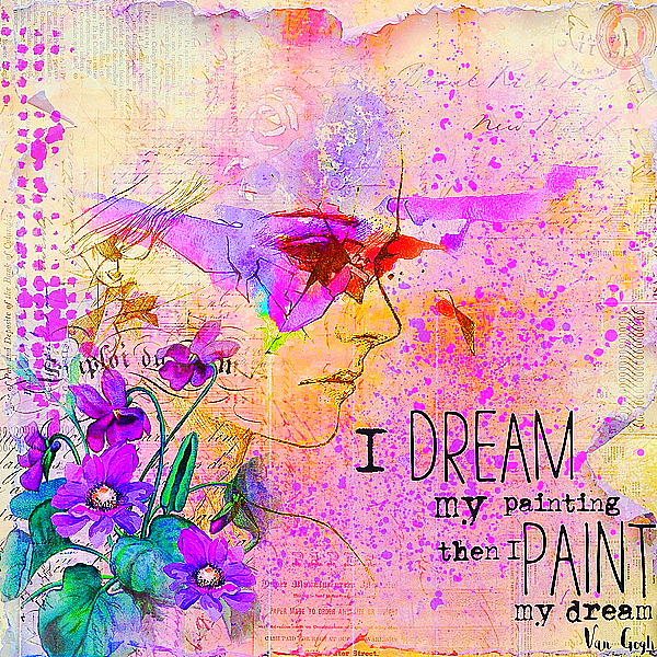 I Dream My Painting - February Color
