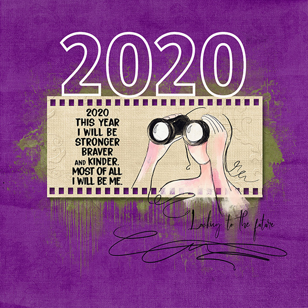 Looking To The Future - 2020 Mask