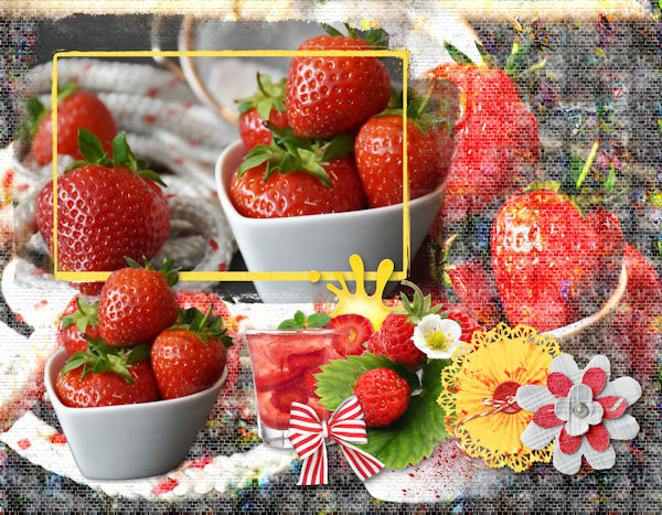 March Picture Perfect - Strawberries