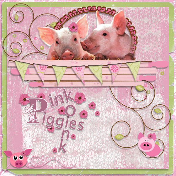 Pop Up Challenge Word Link #2 - Pink Piggies