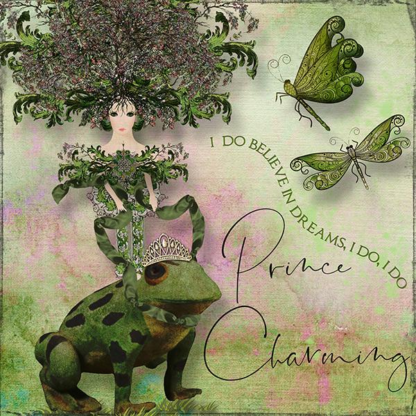 Prince Charming - Fantasy Page Challenge