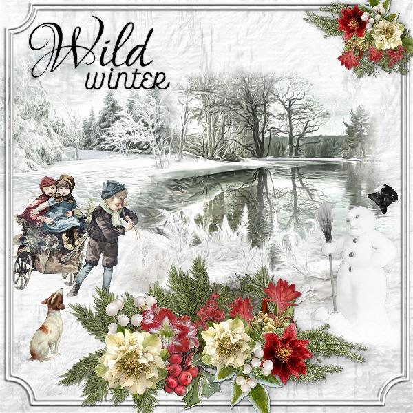 Rosie Mini Kit Challenge - Wild Winter