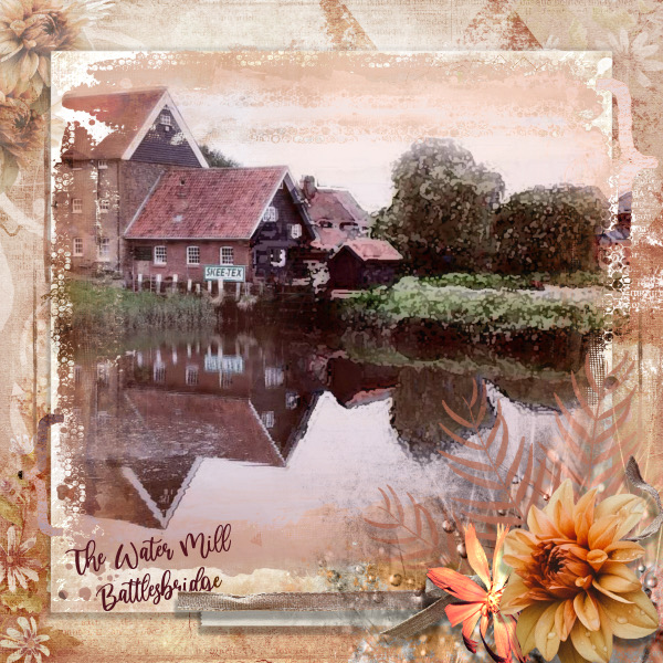 September Mask Challenge HSA - The Water Mill