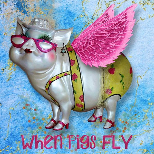 When Pigs Fly - PopUp Metamorphosis