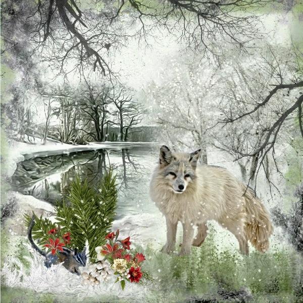 Wild Winter Mini Kit Challenge.......